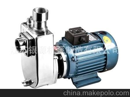 專業生產 ZX型 不銹鋼自吸泵 ZH無堵塞自吸泵 無阻塞自吸泵