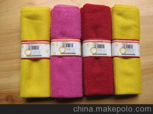 200gsm30*30cm纬编超细细纤维清洁布抹布百洁布