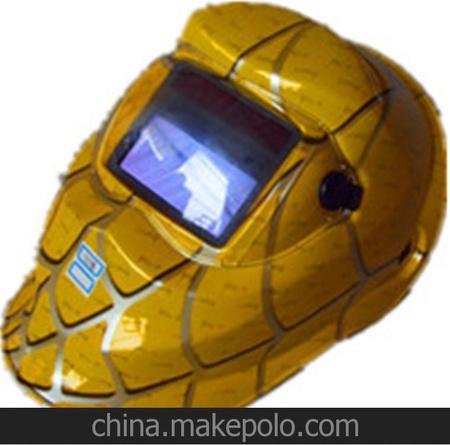 供应太阳能自动变光电焊氩弧焊防护面罩面具焊接防护氩弧焊面罩