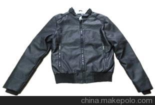 加工 提供男款PU夹克 棉服 羽绒服的加工生产