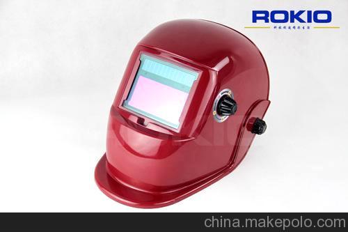 厂家直销出口欧美国家 电焊面罩 太阳能自动变光焊接面罩