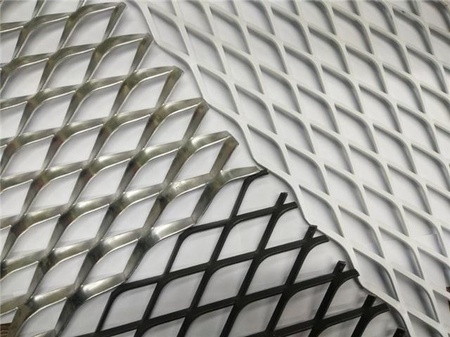 浙江鋁拉網板吊頂  裝飾外墻鋁板網價格 上海申衡