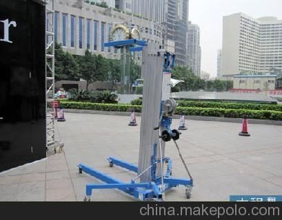 长春手摇物料升降机升降车 布置展会用手摇升降机
