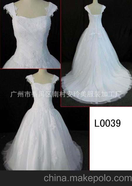 定做婚纱礼服 婚纱 长款 礼服长款 A线婚纱 绑带婚纱 精品婚纱