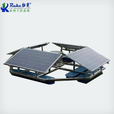 定制太阳能解层曝气机 河道治理水下曝气器  太阳能河道曝气机